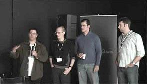Innaugural Maemo Council: Tim Samoff, Andrew Flegg, Eduardo Lima, Simon Pickering